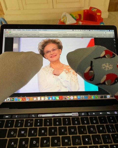 «... а получилась Волочкова»: Малышева заразилась «носочной» болезнью