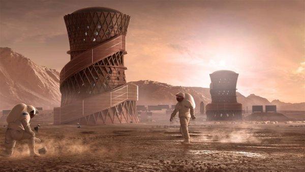 В NASA продемонстрировали вид жилищ людей для Марса или Луны