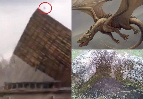 В Адыгее обнаружено укрытие шпионов Нибиру - Драконов-пришельцев засекли во время «разгула стихии» в Сибири