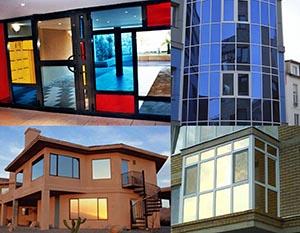 Архитектурная тонировка стекол