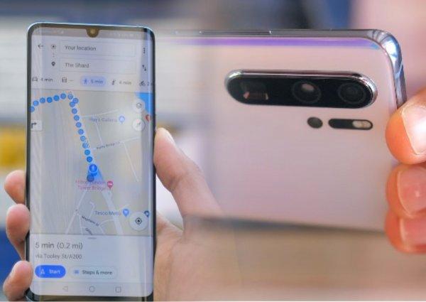 Зачем «чёлка»? Разработчики Huawei нашли новый метод борьбы с вырезами в экране