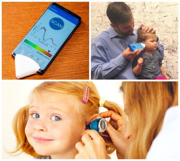 Сэкономить на лоре: Смартфон и лист бумаги выявят ушную инфекцию у ребёнка