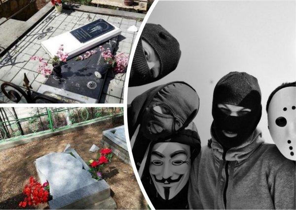 Нелюди: Кладбище в Тынде было разгромлено неизвестными вандалами