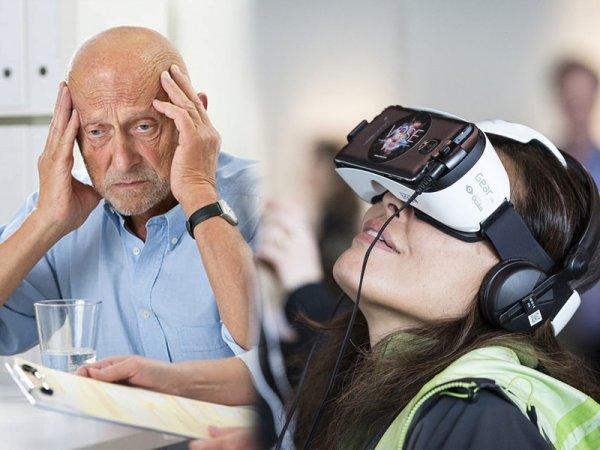 Виртуальная реальность поможет предсказать склероз заранее – учёные