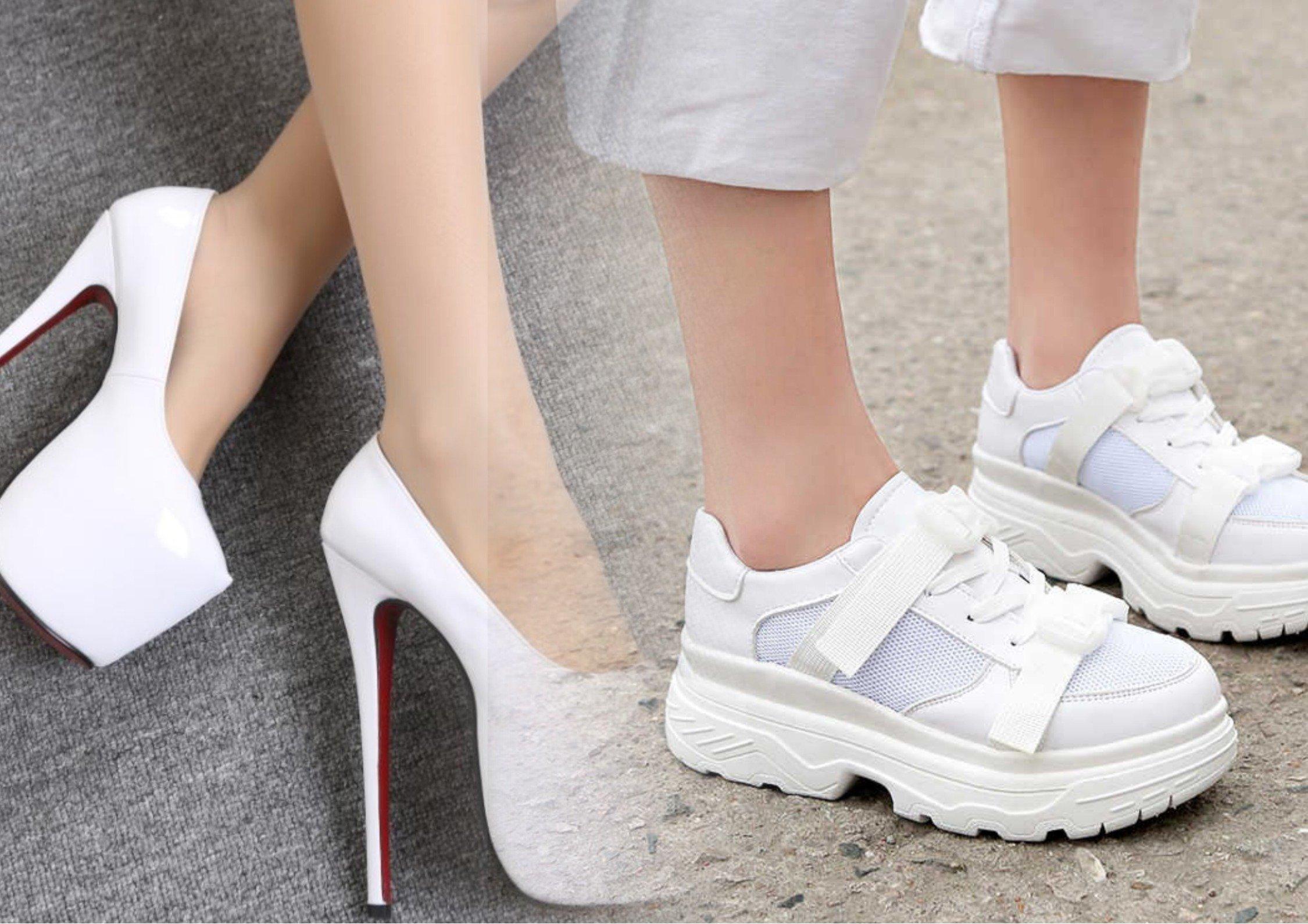 Неудобные туфли стать моделью после 30