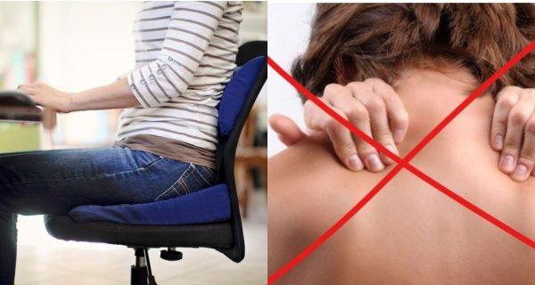 Названы ТОП-3 сидячие позы, которые не вызывают боль в спине и шее