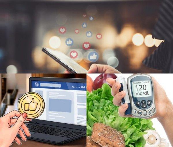 Лайк, если сахар поднялся: Социальные сети помогут диагностировать диабет