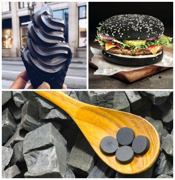 Чёрное мороженое — выбросить! Продукты с активированным углем опасны – медики