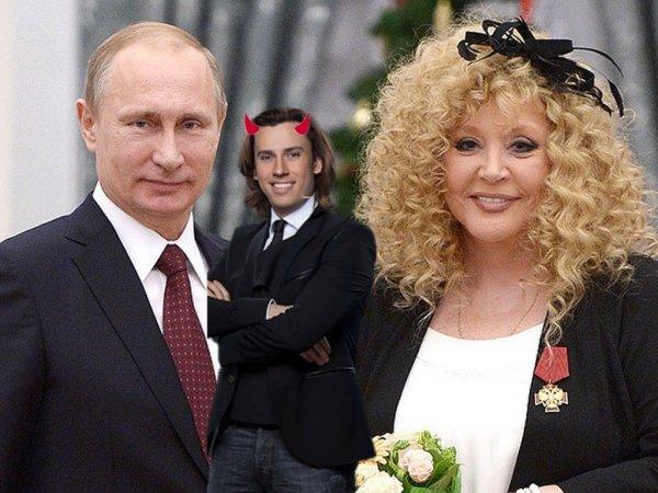Заигрался в либерала: Галкин рушит дружеские отношения Путина и Пугачевой