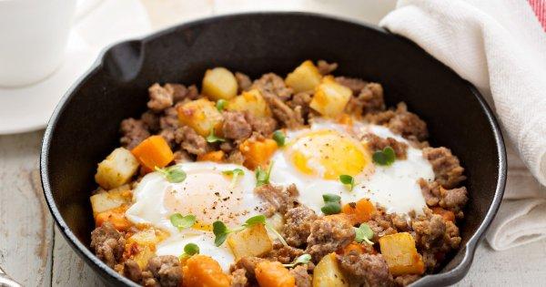 Жареная картошка и яйца несовместимы