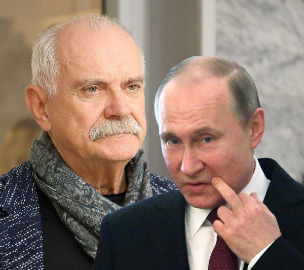Путин больше не друг или почему Михалков внезапно исчез с экранов?