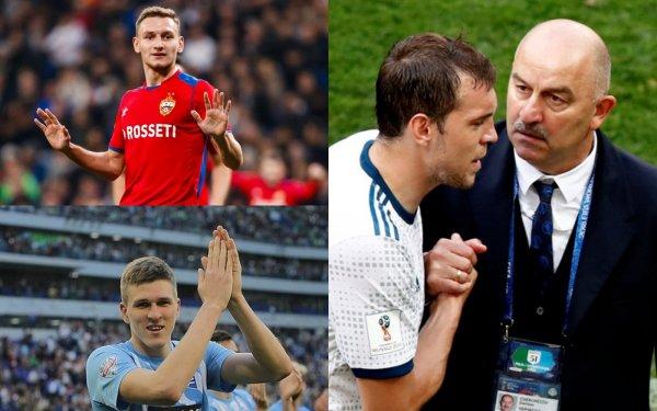 Дзюба «засох»: Чалов и Соболев спасут Черчесова от катастрофы в отборе Евро-2020