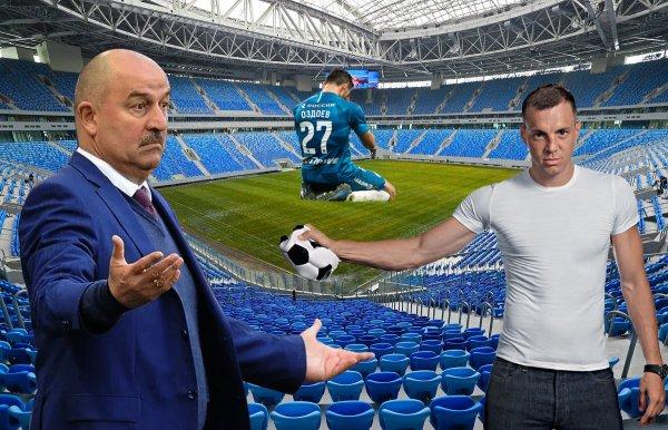 Спасибо Черчесову: «Зенит» опозорится с «Арсеналом» из-за травм, лимита и беготни в сборной