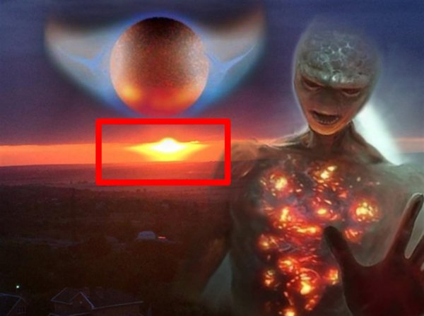 Орёл Нибиру завис над Ростовом - Планета Х едва не сожгла город