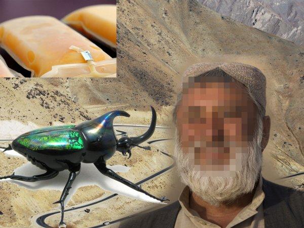 Потомок царя Мидаса? Мужчину с «золотой» кровью нашли в Афганистане