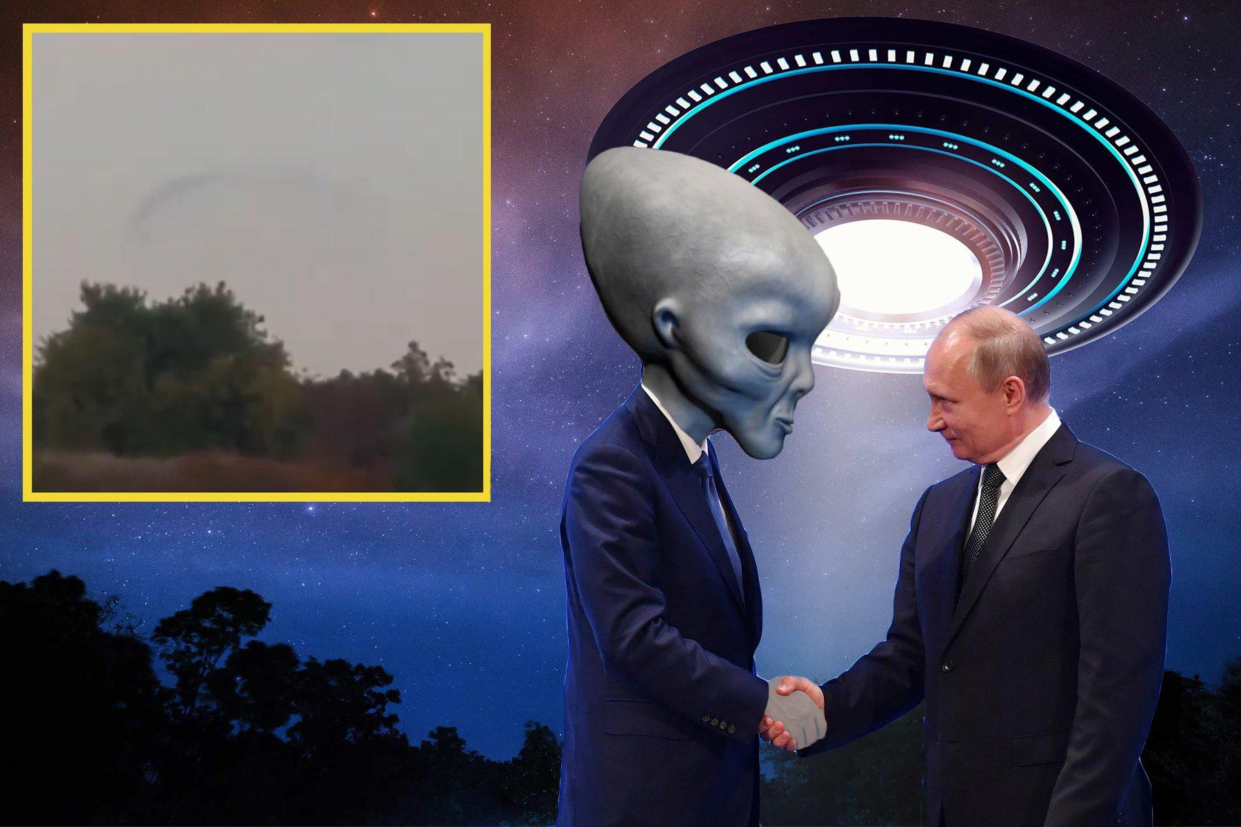 Картинки про нло инопланетяне
