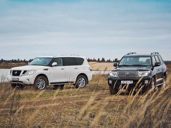 Столкновение легенд: Сравниваем Toyota Land Cruiser 100 и Nissan Patrol GR