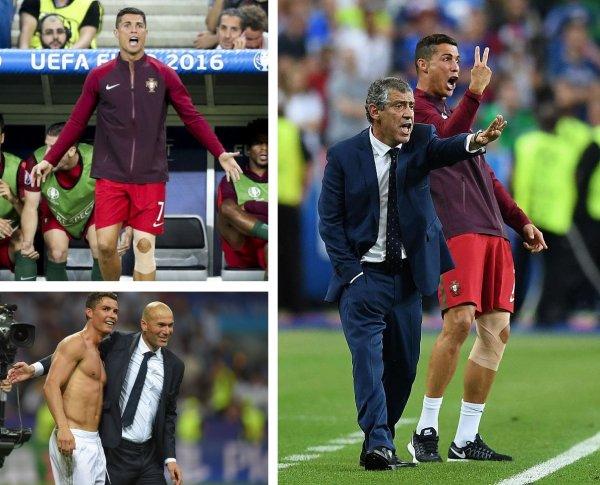 Роналду сменит Зидана на посту тренера «Реала»