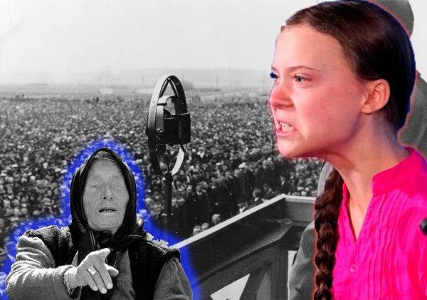Новый Гитлер: Грета Тунберг станет лидером нового Режима