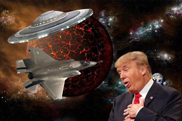 Трамп прогнулся под Нибиру – Корабль с Планеты Х провёл совместные учения с ВМФ США