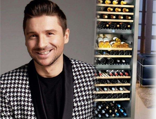 «Михаил не пьет, он тестирует!» – Лазарев приобрел для «любовника» винный холодильник