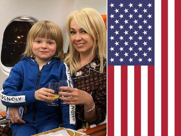 Родина не простит! Рудковская готовит сына к американскому гражданству?