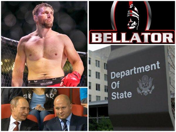 Следующий Емельяненко: Госдеп не дал другу Путина Минакову вернуть пояс Bellator