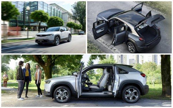 «За счёт эффекта 3D»: Автолюбитель рассказал про Mazda MX-30 2020