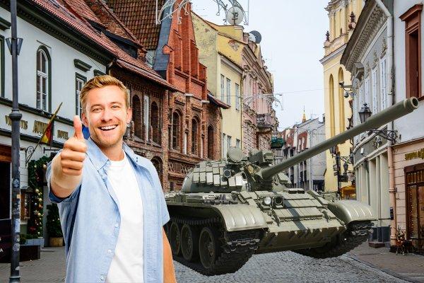 В Литве будут рады русским войскам