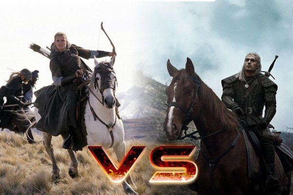 Геральт vs Леголас: Началась «война» между «Ведьмаком» и «Властелином колец»