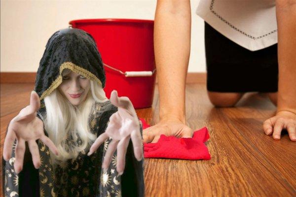 Секрет свекрови: Зачем мыть пол красной тряпкой без швабры