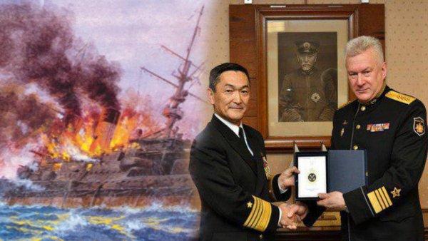Позор сквозь века... Японский адмирал унизил российский ВМФ одним фото