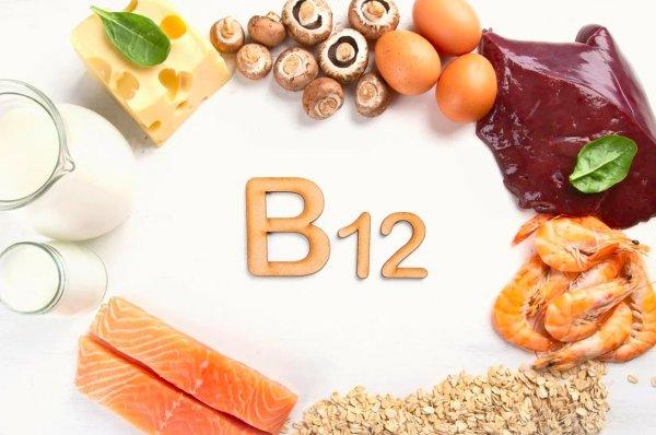 Дефицит витамина B12 провоцирует головные боли