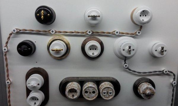 Ретро электрика: какой тип проводки выбрать