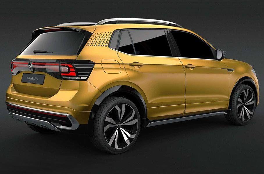 Volkswagen представил бюджетный кроссовер Volkswagen Taigun