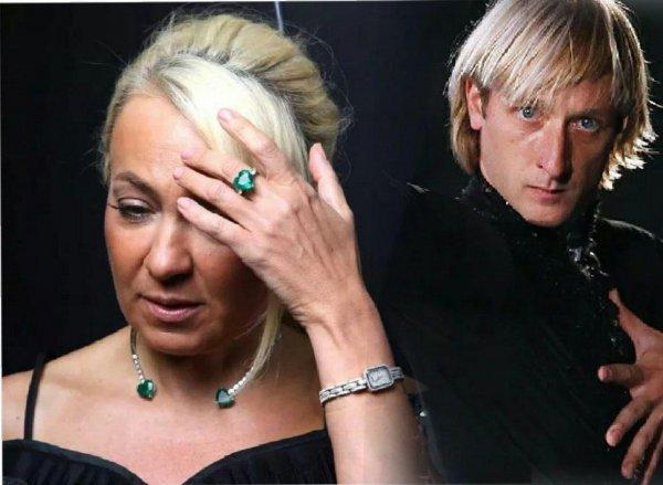 Пока Плющенко с любовницей… «Убитая горем» Рудковская вышла в свет в наряде «вдовы»