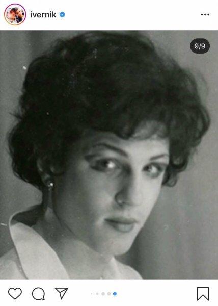 Игорь Верник показал фото 80-х годов в образе женщины