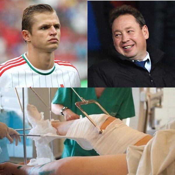 Помогли выйти из игры: Тарасову сломали ногу и карьеру за издевательства над Слуцким