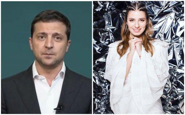 Родственные связи помогли или как звезда «Папика» закрутила роман с Зеленским