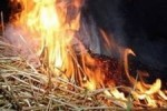 Из-за неосторожного обращения с огнем несовершеннолетними уничтожено чужое имущество