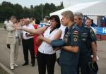 Во время всероссийских соревнований большой интерес у спортсменов вызвала тематическая передвижная выставка