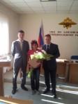 Жительница г. Елизово, оказавшая помощь в задержании преступников, стала членом общественного совета при МО МВД России «Елизовский»