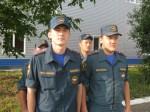 Выпускники вливаются в трудовой коллектив МЧС